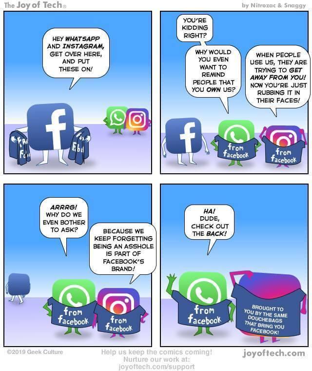 facebook renomme instagram et whatsapp