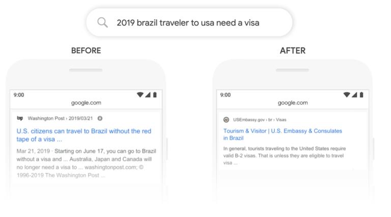 algorithme Google BERT