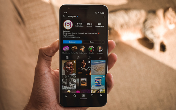 Comment activer dark mode instagram